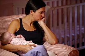 5 simptome comune ale depresiei și anxietății postpartum
