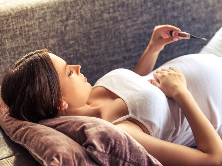 Febra în sarcină – în funcție de săptămână sau trimestru