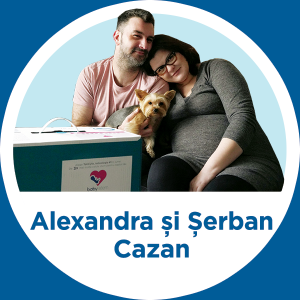 Povestea Alexandrei si Serban Cazan